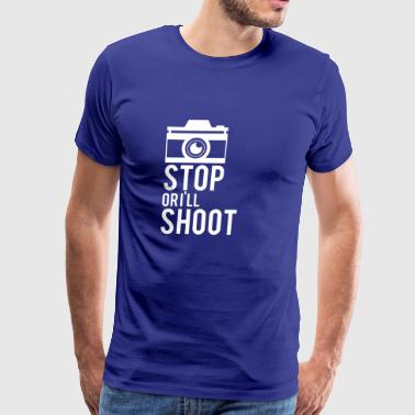 Photographer - Shoot - Camera - Photo - Gift - Men's Premium T-Shirt