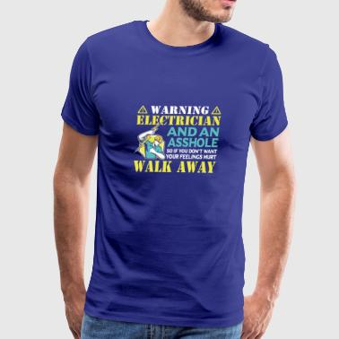 Cool Costume For Electrician. T-Shirt For Dad/Gran - Men's Premium T-Shirt