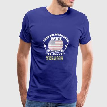 Great Gift For Soldier Girlfriend. Shirt From men - Men's Premium T-Shirt