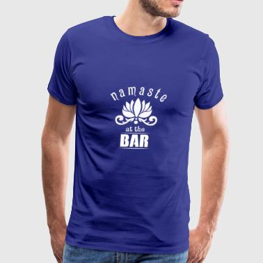 Great Costume For Yoga Lover. Shirt For Bartender. - Men's Premium T-Shirt