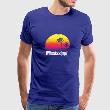 Summer Vacation Mississippi Shirts - Men's Premium T-Shirt