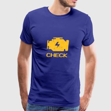 Engine Check - Men's Premium T-Shirt
