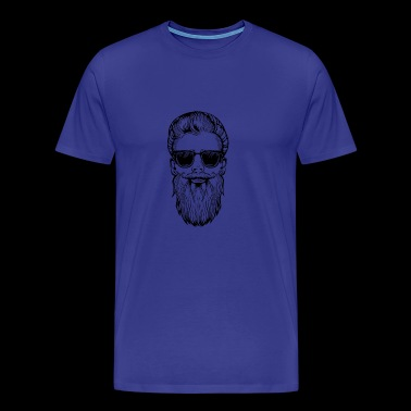 bearded hipster - Men's Premium T-Shirt