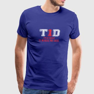 Sweet Make Sick Type 1 Diabetes Wareness - Men's Premium T-Shirt