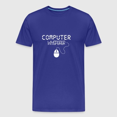 Computer Whisperer - Men's Premium T-Shirt