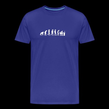 Evolution - Geek - Nerd - PC- Funny - Lol - Gift - Men's Premium T-Shirt