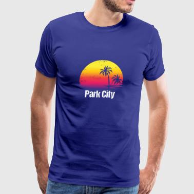 Summer Vacation Park City Shirts - Men's Premium T-Shirt