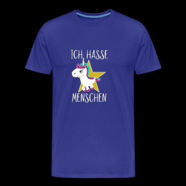 I hate people unicorn - Men's Premium T-Shirt