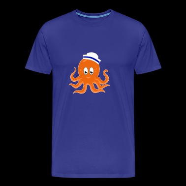 Octopus Sailor For Kids - Men's Premium T-Shirt