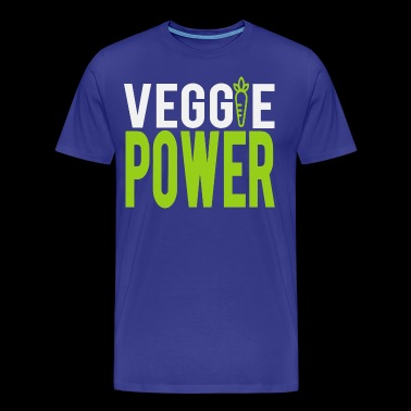 Cool VEGGIE POWER Shirt - Men's Premium T-Shirt
