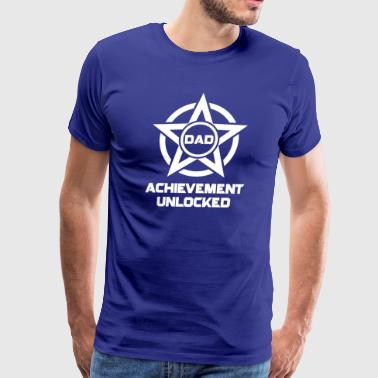 New Achievement Dad - Men's Premium T-Shirt