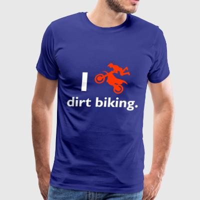 Dirt biking - Men's Premium T-Shirt