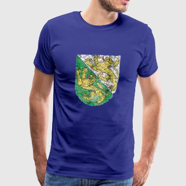 Thurgau Vintage Flag - Men's Premium T-Shirt