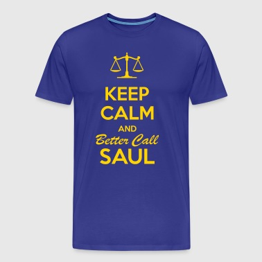 Keep Calm Saul - Men's Premium T-Shirt