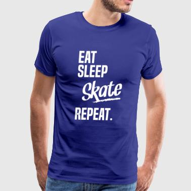 EAT SLEEP SKATE - Men's Premium T-Shirt