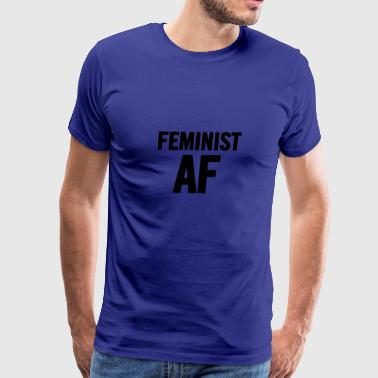 Feminist AF Black - Men's Premium T-Shirt