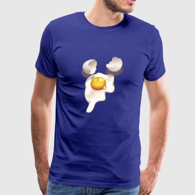 Cracked egg - Men's Premium T-Shirt