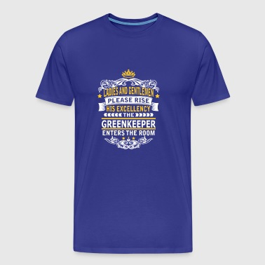 GREENKEEPER - Men's Premium T-Shirt