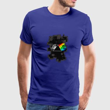 Rainbow in Galaxy - Men's Premium T-Shirt