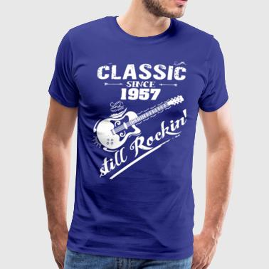Classic Since 1957 and still Rokin - Men's Premium T-Shirt