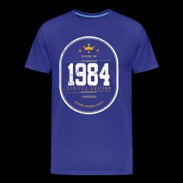 Made In 1984 Limited Edition Vintage - Men's Premium T-Shirt