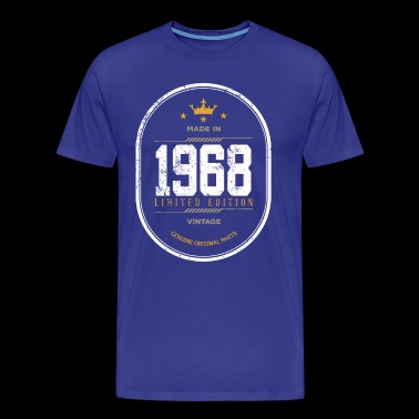 Made In 1968 Limited Edition Vintage - Men's Premium T-Shirt