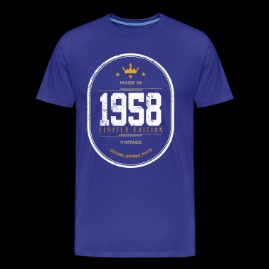 Made In 1958 Limited Edition Vintage - Men's Premium T-Shirt