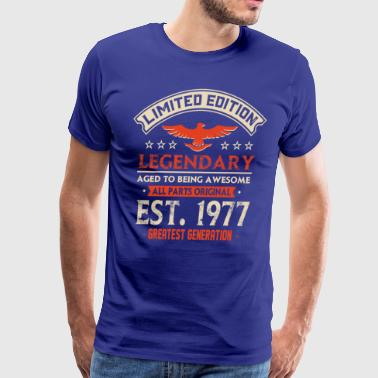 Limited Edition Legendary Est 1977 - Men's Premium T-Shirt