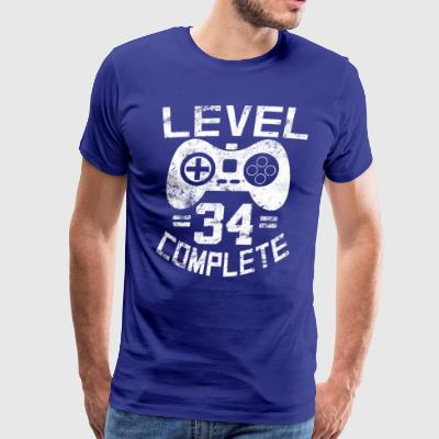 Level 34 Complete - Men's Premium T-Shirt