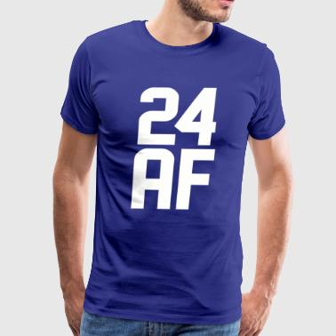 24 AF Years Old - Men's Premium T-Shirt