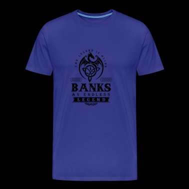 BANKS - Men's Premium T-Shirt