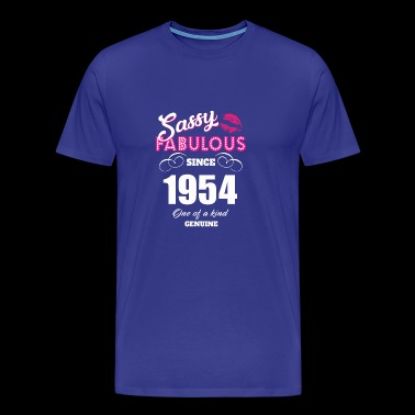 Sassy Fabulous Since 1954 - Men's Premium T-Shirt