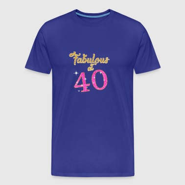 Fabulous at 40 - Men's Premium T-Shirt