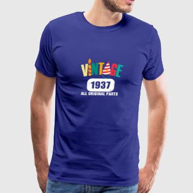 Vintage 1937 All Original Parts - Men's Premium T-Shirt