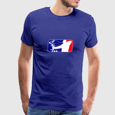 Major League Bow Hunting - Men's Premium T-Shirt
