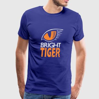 Bright Tiger - Men's Premium T-Shirt