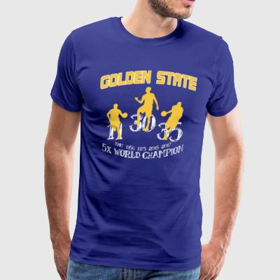 GOLDEN STATE CHAMPIONS 2017 - Men's Premium T-Shirt