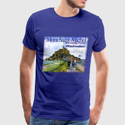 Mont Saint Michel Shirt - Men's Premium T-Shirt