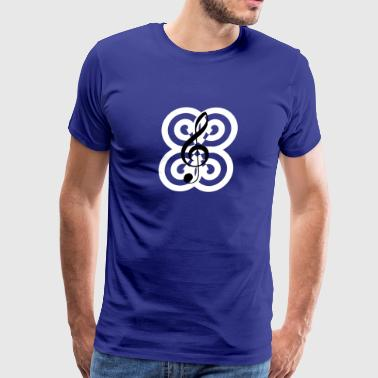 Treble clef - Men's Premium T-Shirt