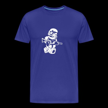 STORMTROOPER LEGO MAN - Men's Premium T-Shirt