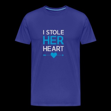 I Stole Her Heart - Men's Premium T-Shirt