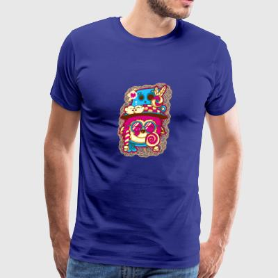I love candy - Men's Premium T-Shirt
