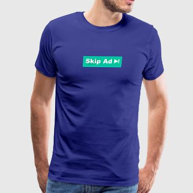 Skip Ad Youtube - Men's Premium T-Shirt