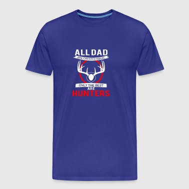 Dad Hunter - Men's Premium T-Shirt