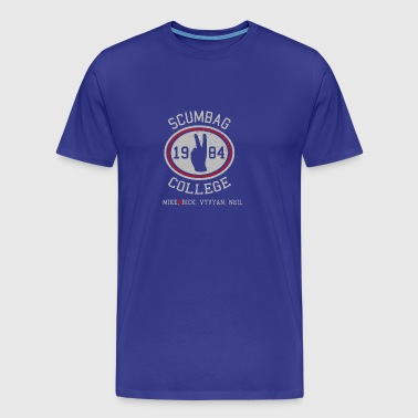 scumbag college - Men's Premium T-Shirt