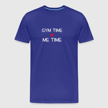Discover Gym Time Me Time - Men's Premium T-Shirt