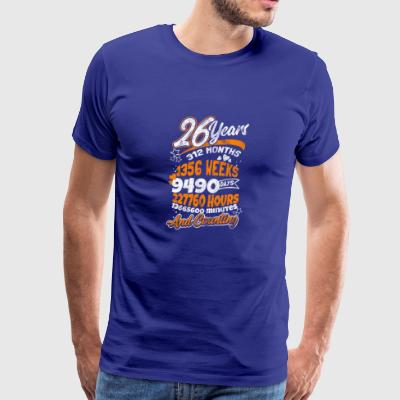 Shirt for 26th Birthday as a gift - Men's Premium T-Shirt