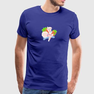 Strawberry Pup - Men's Premium T-Shirt
