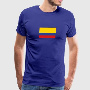 National Flag Of Colombia - Men's Premium T-Shirt
