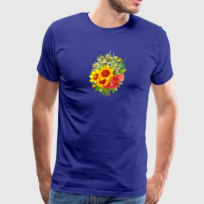 Flowers - Men's Premium T-Shirt